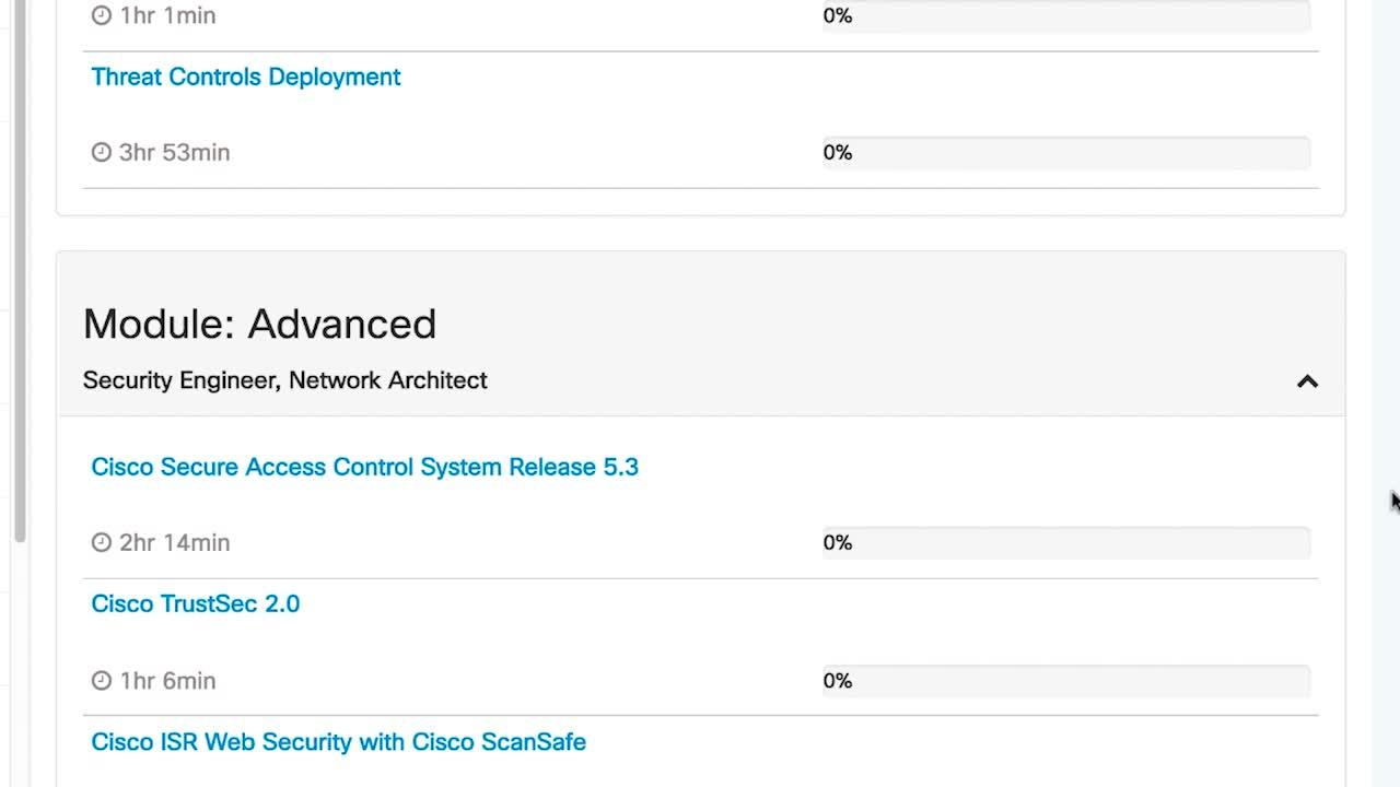 Ccna security certifications cisco video portal cisco platinum learning library demo 1betcityfo Choice Image