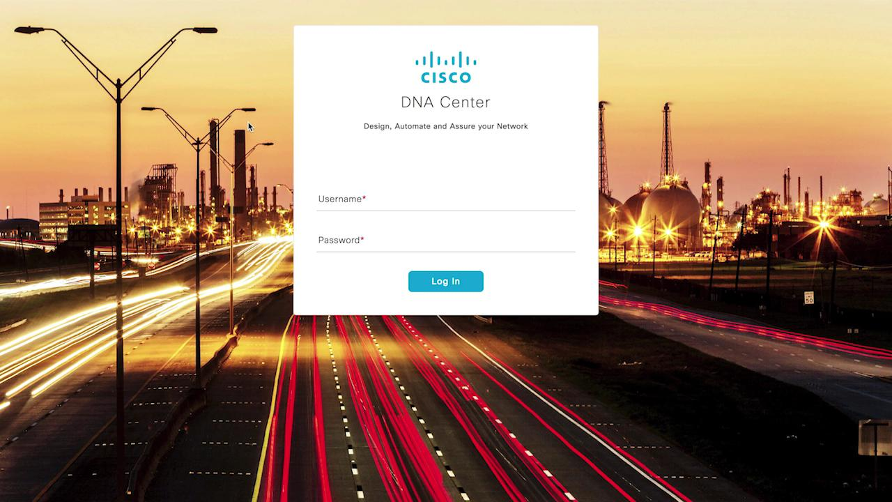 Introduction to Cisco DNA Center User Interface